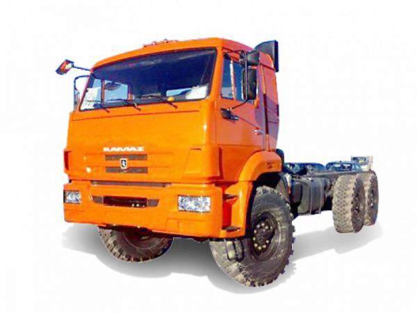 Расход топлива шасси КАМАЗ 65116 на 100 км