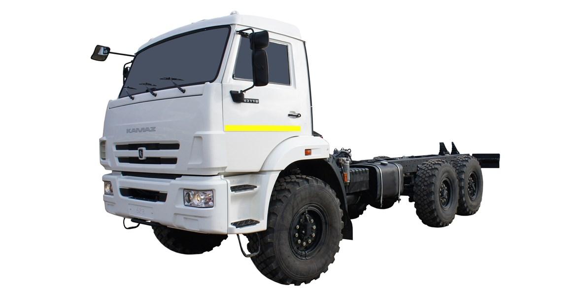 Средний расход топлива шасси КАМАЗ 43118 на 100 км