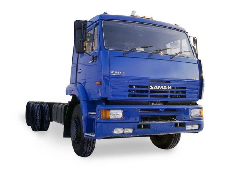 Расход топлива шасси КАМАЗ 65117