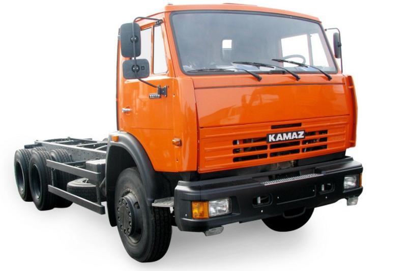 Расход топлива шасси КАМАЗ 55111