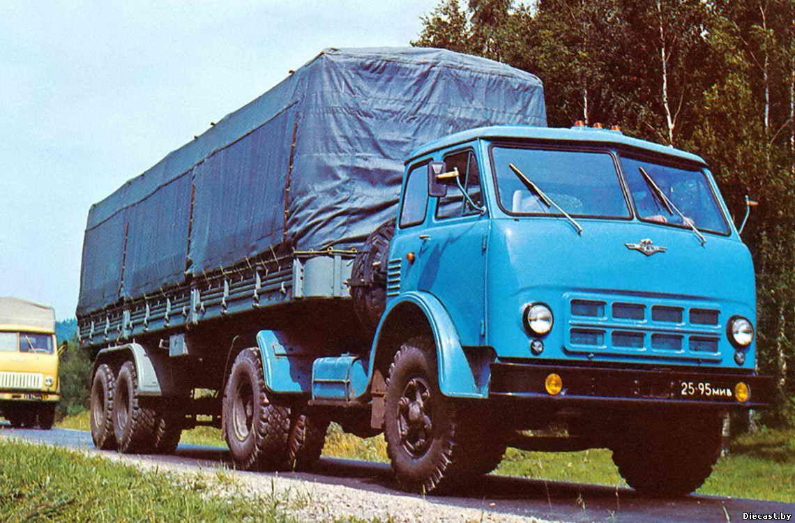 Расход топлива МАЗ-504 (дв. ЯМЗ-238)